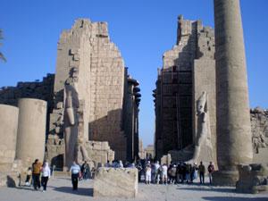 Древний город в Египте