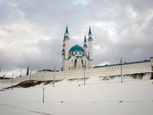 Зимний Кул Шариф в Казани
