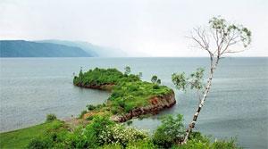 Мыс озера Байкал