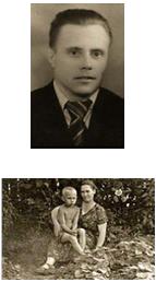 Отец и мать Владимира Путина