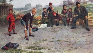 "Картина С. Григорьева ""Вратарь"""